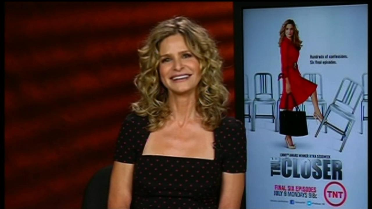 Kyra Sedgwick talks to OnTheRedCarpet.com about The Closers final six episodes in a satellite interview on July 9, 2012.