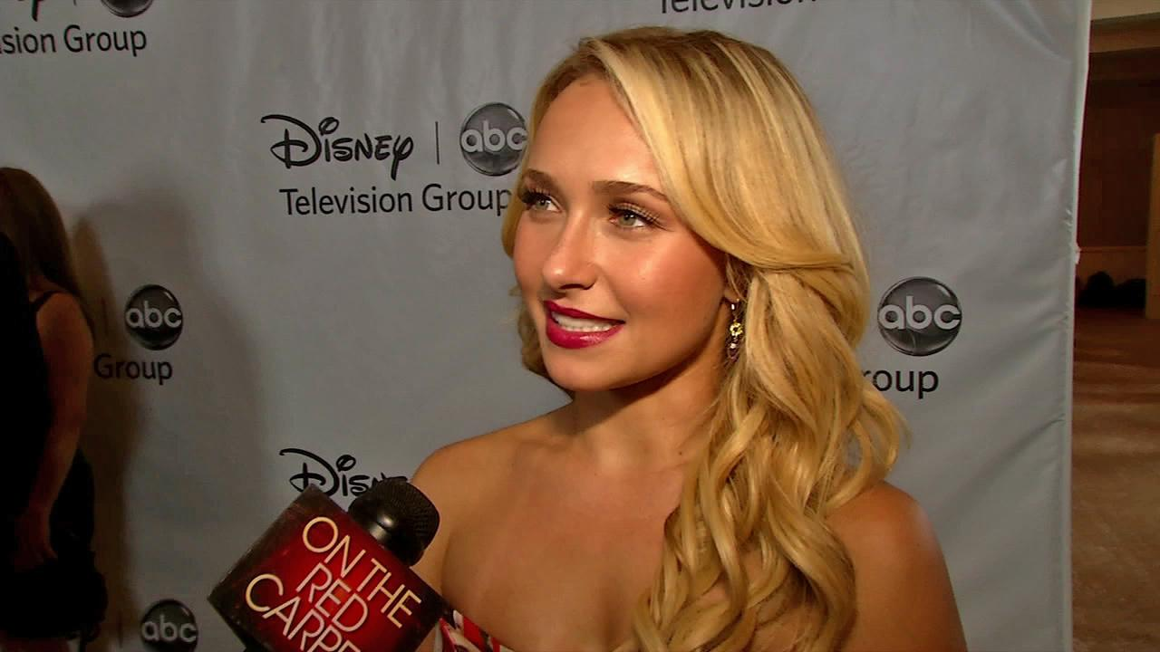 Hayden Panettiere talks to OnTheRedCarpet.com at ABCs Television Critics Association party on July 27, 2012.