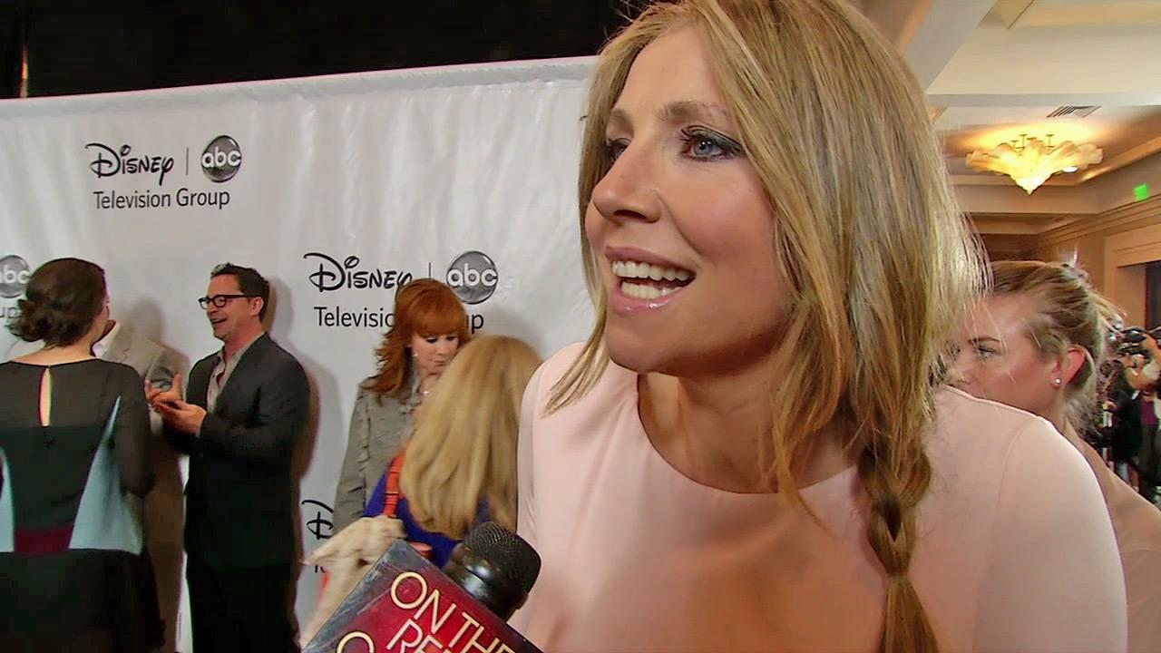 Sarah Chalke talks to OnTheRedCarpet.com at ABCs Television Critics Association party on July 27, 2012.