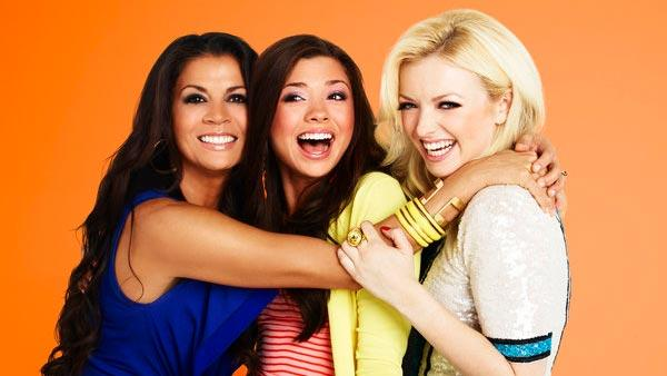 Dina, Morgan and Francesca appear in a publicity photo for E!'s new reality series
