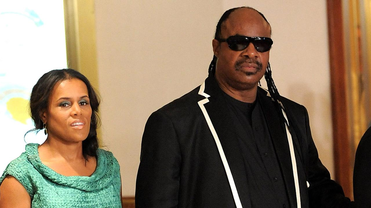 Singer Stevie Wonder and Kai Millard Morris attend the 2009 White House Correspondents Dinner at the Washington Hilton on Saturday, May 9, 2009 in Washington.Evan Agostini