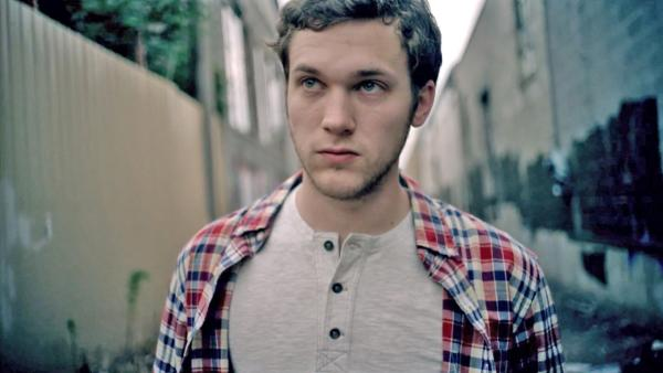 Phillip Phillips appears in a scene from his August 2012 music video for his single Home. - Provided courtesy of Interscope Records