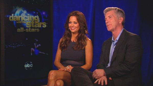 Tom Bergeron and Brooke Burke Charvet talked to OnTheRedCarpet.com about the upcoming all-star season of Dancing with the Stars.