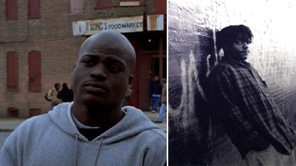 DeAndre McCullough appears in a still from 'The Wire' and on the cover of the book, 'The Corner: A Year in the Life of an Inner-City Neighborhood,' from his official MySpace page.