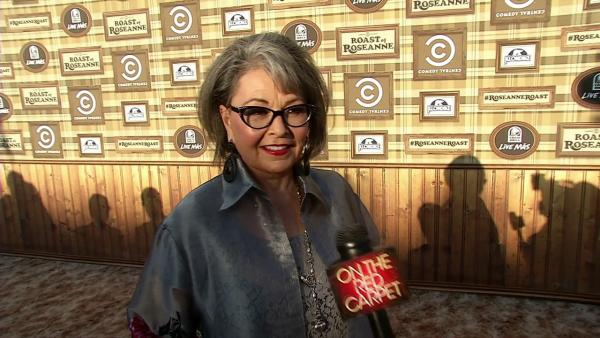 Roseanne Barr talks to OnTheRedCarpet.com before a taping of The Comedy Central Roast of Roseanne on Aug. 4, 2012. - Provided courtesy of OTRC