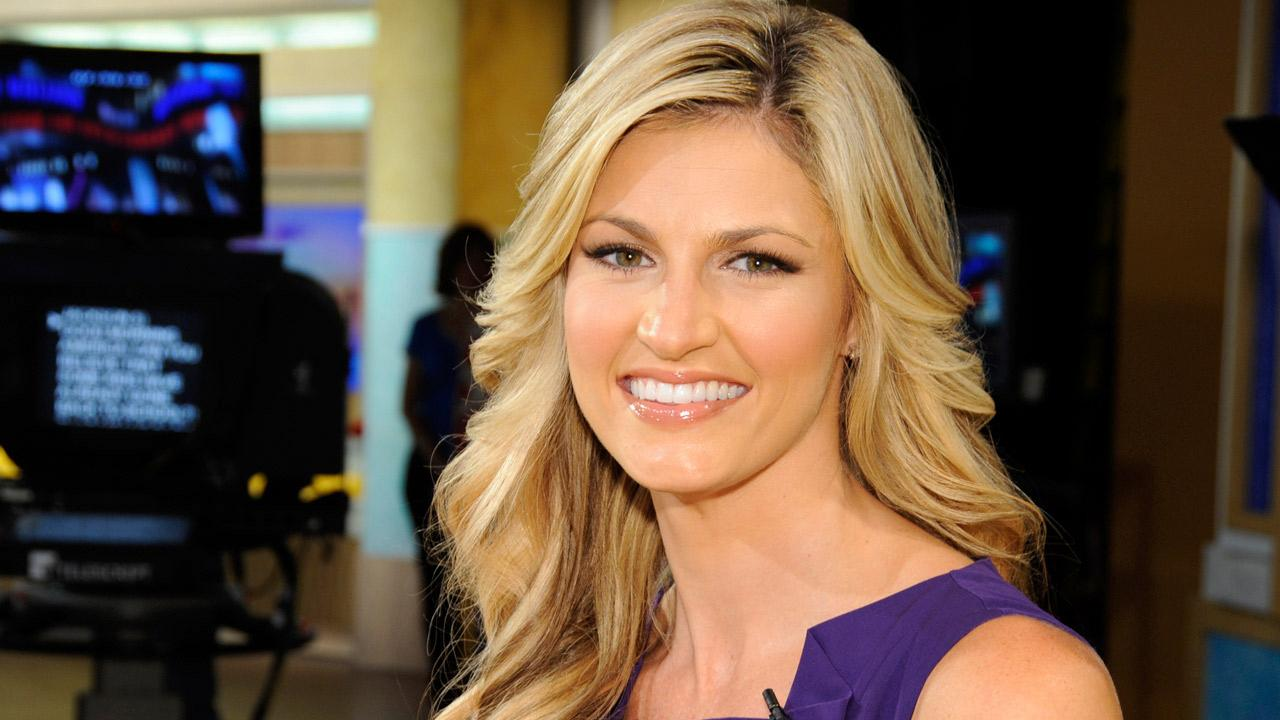 Erin Andrews appears in a promotional photo for Good Morning America on February 25, 2011.