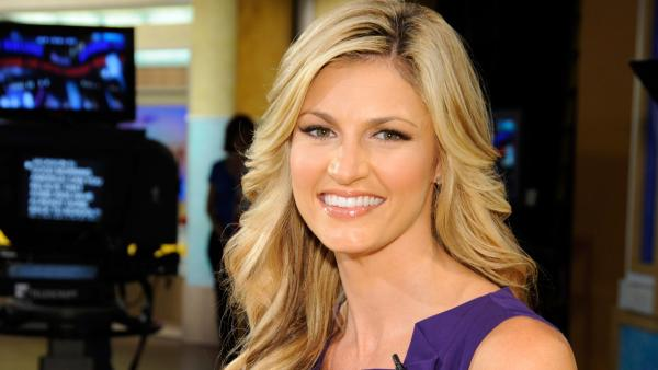 Erin Andrews appears in a promotional photo for 'Good Morning America' on February 25, 2011.