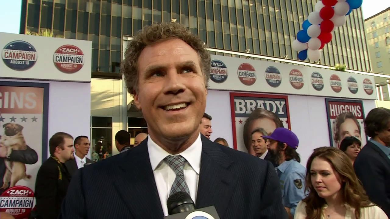 Will Ferrell talks to OnTheRedCarpet.com at the Los Angeles premiere of the Will Ferrell comedy movie The Campaign on Aug. 2, 2012.