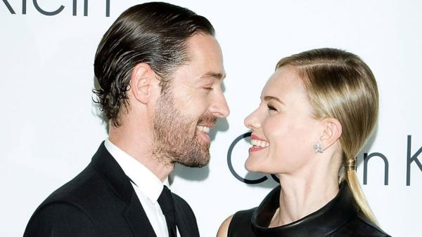 Kate Bosworth and Michael Polish appear in a photo posted on the actress' official Twitter page on May 25, 2012.