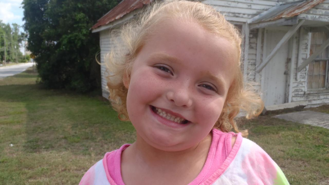 Alana (Honey Boo Boo) Thompson appears in an undated promotional photo for the first season of Here Comes Honey Boo Boo in 2012.