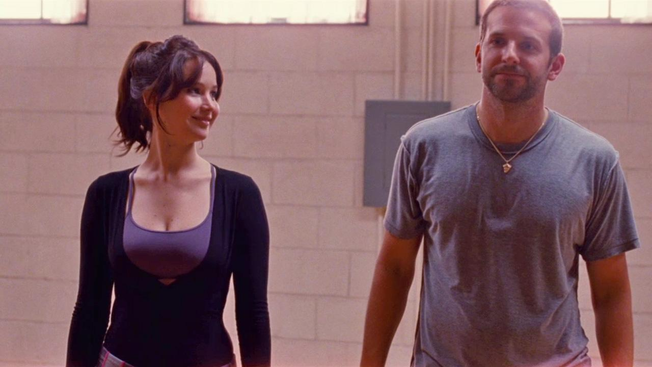 Jennifer Lawrence and Bradley Cooper appear in a still from Silver Linings Playbook.The Weinstein Company