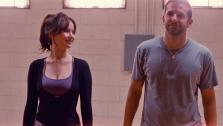 Jennifer Lawrence and Bradley Cooper appear in a still from Silver Linings Playbook. - Provided courtesy of none / The Weinstein Company