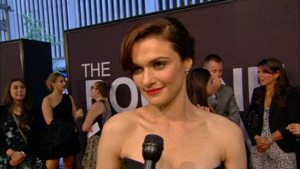 Rachel Weisz talks 'overwhelming' experience
