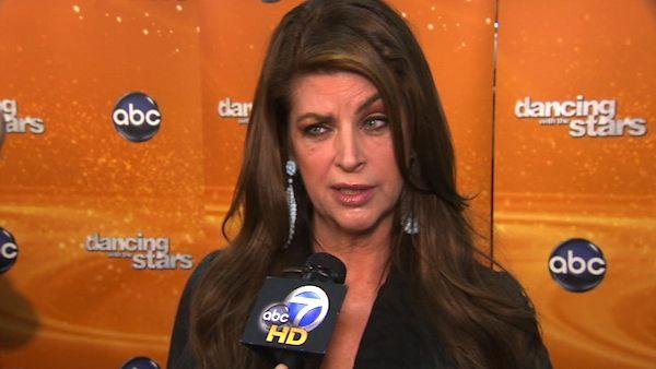 Kirstie Alley talks to OnTheRedCarpet.com during the 2011 season of 'Dancing With The Stars.'
