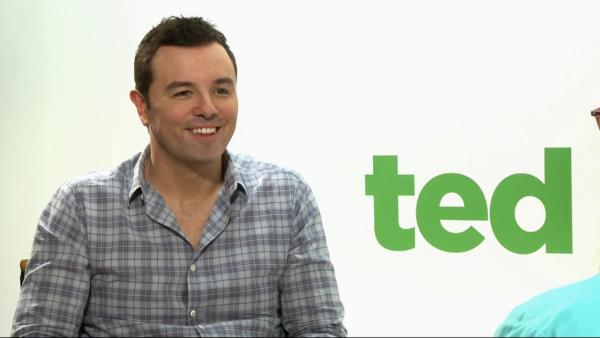 Seth MacFarlane talks to OnTheRedCarpet.com about the movie 'Ted' in June 2012.