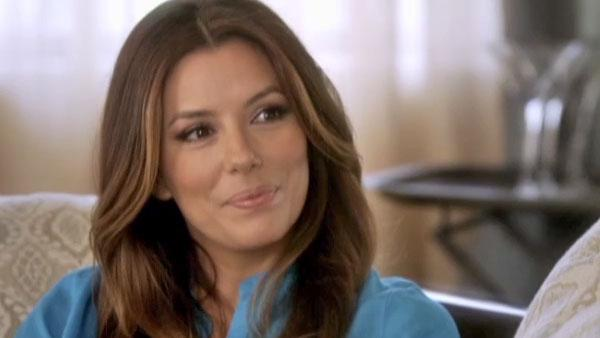 Eva Longoria appears in an interview on 'The Conversation with Amanda de Cadenet' which aired on May 10, 2012.