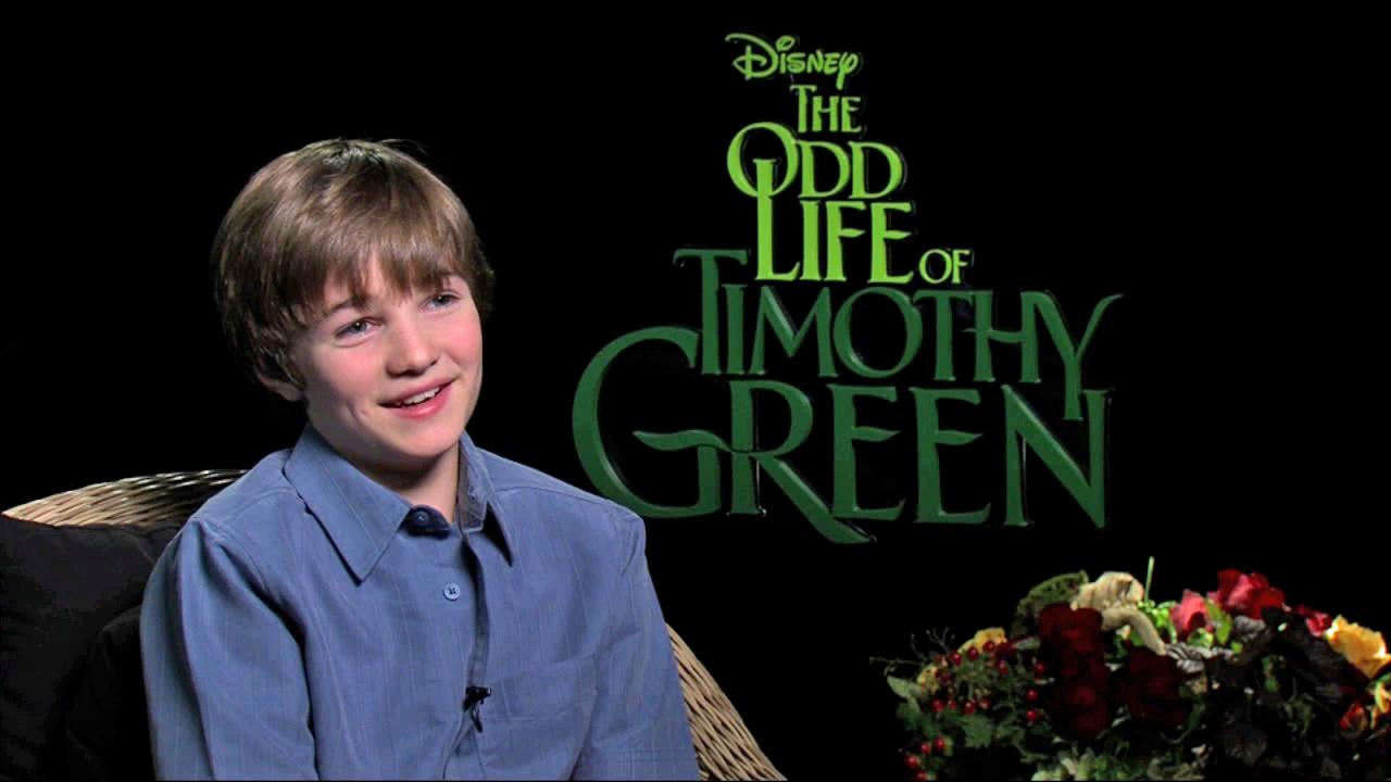 CJ Adams talks to OnTheRedCarpet.com about The Odd Life of Timothy Green on August 10, 2012.