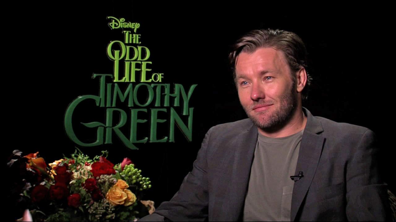 Joel Edgerton talks to OnTheRedCarpet.com about The Odd Life of Timothy Green on August 10, 2012.