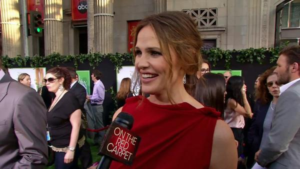 Jennifer Garner on 'The Odd Life of Timothy Green' premiere