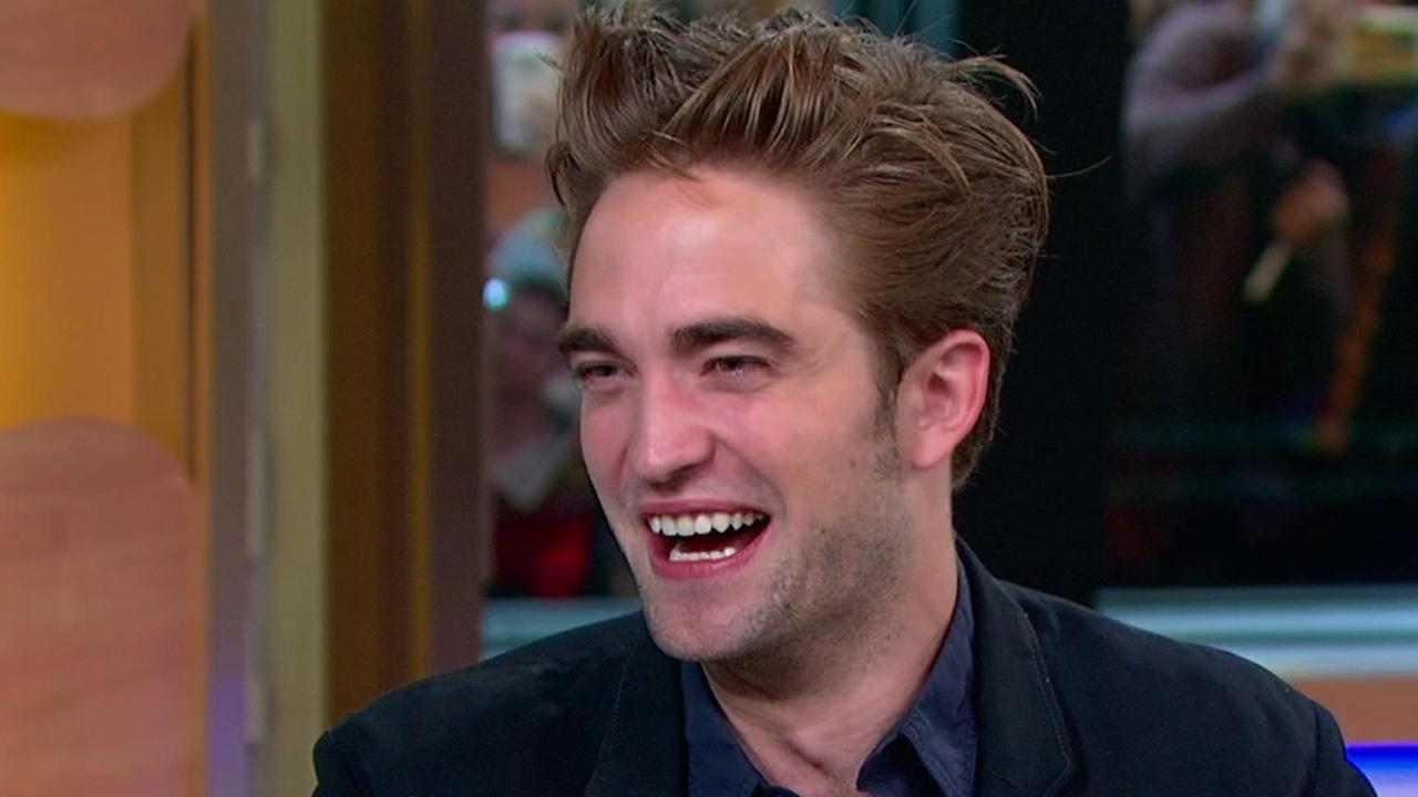Twilight actor Robert Pattinson  appears on ABCs Good Morning America on Wednesday, Aug. 15, 2012.
