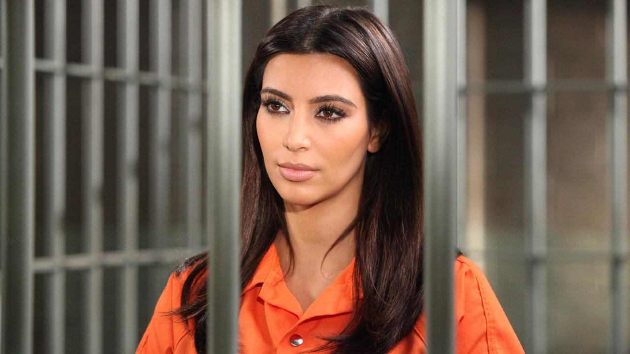 Kim Kardashian appears in a promotional photo for her role on Drop Dead Diva season 4, which airs on August 26, 2012.Annette Brown / Lifetime