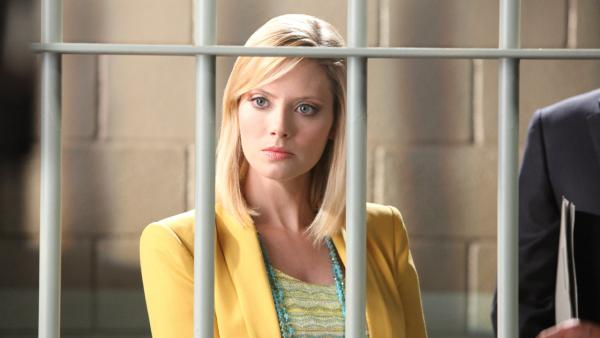 April Bowlby appears in a promotional photo for 'Drop Dead Diva' season 4, which airs on August 26, 2012.