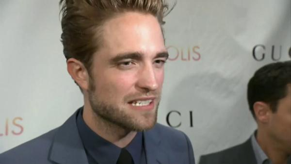 Robert Pattinson talks sex scenes in 'Cosmopolis'