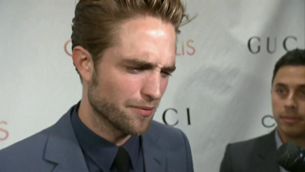 Robert Pattinson talks 'Cosmopolis' director