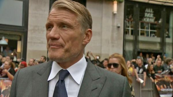 Dolph Lundgren on 'The Expendables 2' co-star Liam Hemsworth