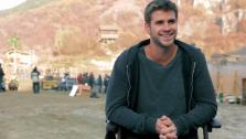 Liam Hemsworth talks about Expendables 2, in an August 2012 interview provided by the studio. - Provided courtesy of Millennium Films / Lionsgate