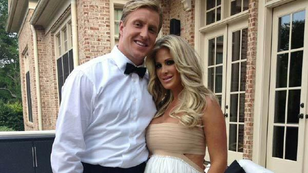 Kim Zociak and Kroy Biermann appear in a photo posted on her official Twitter page on May 18, 2012.