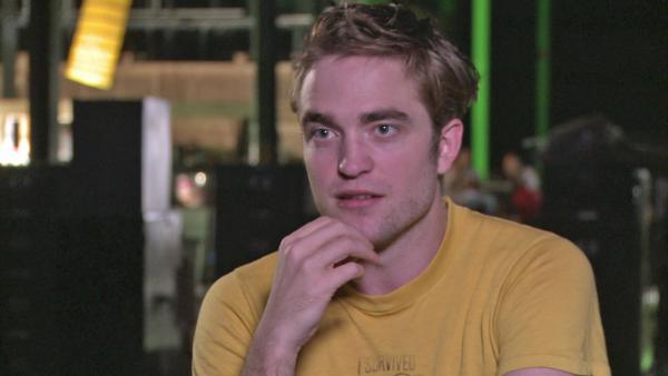 Robert Pattinson on the 'Cosmopolis' limo