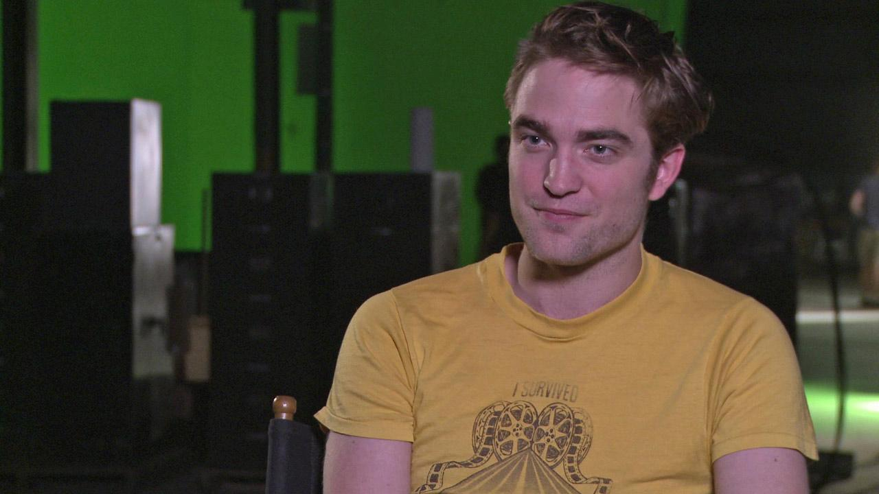 Robert Pattinson appears in a 2012 interview about Cosmopolis.