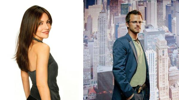 Vanessa Marcil appears in a promotional photo for ABC's 'General Hospital' in 2010. / Carmine Giovinazzo appears in a promotional photo for the CBS series 'CSI: NY' in 2011.