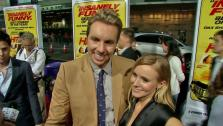 Dax Shepard and Kristen Bell appear at the premiere of Hit and Run in Los Angeles on August 14, 2012. - Provided courtesy of OTRC