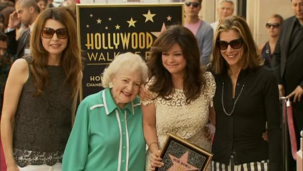 OTRC: Valerie Bertinelli gets a star on the Hollywood Walk of Fame