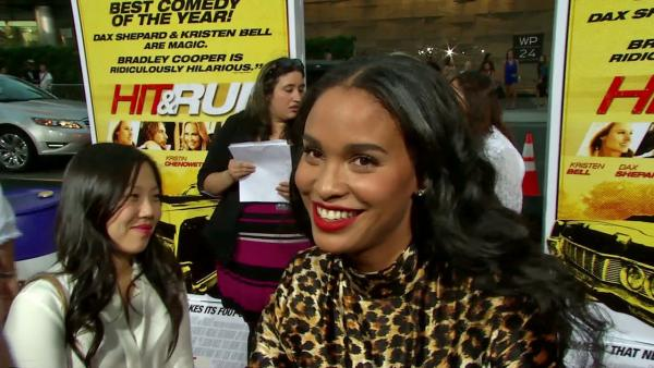 Joy Bryant talks 'Hit & Run'