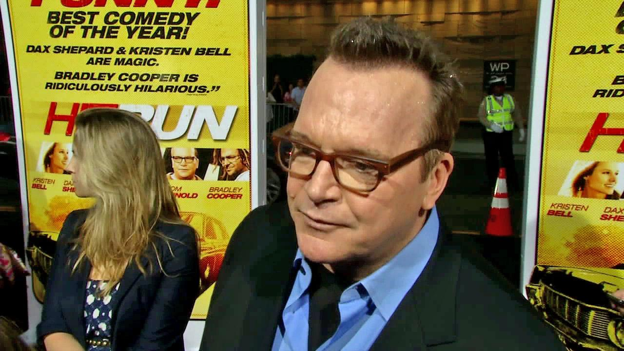 Tom Arnold appears at the premiere of Hit and Run in Los Angeles on August 14, 2012.