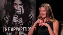 Ashley Greene appears in an interview for The Apparition in August 2012. - Provided courtesy of OTRC