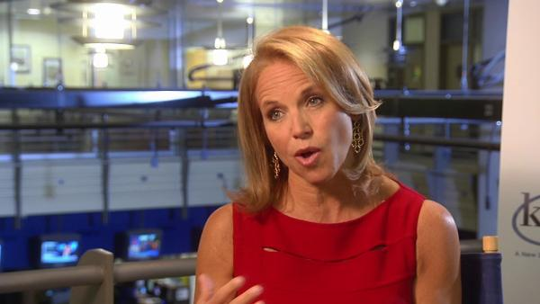 Katie Couric talks being compared to Oprah