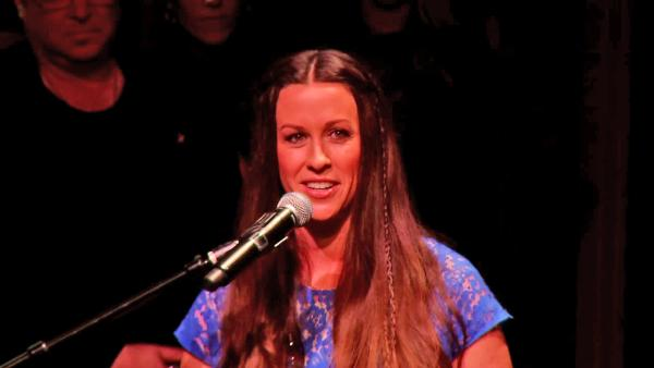 Alanis Morissette at Guitar Center's RockWalk