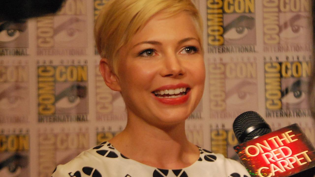 Michelle Williams of Oz: the Great and Powerful, appears in a photo at San Diego Comic-Con on Thursday, July 12, 2012.