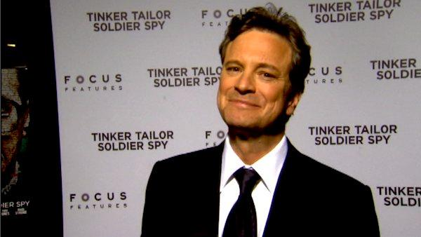 Colin Firth talks to OnTheRedCarpet.com at the premiere of 'Tinker Tailor Soldier Spy.'