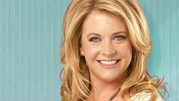 Melissa Joan Hart appears in a promotional photo for 'Melissa and Joey.'