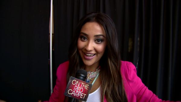 Shay Mitchell talks to OTRC at the Teen Vogue National Shopping Holiday Back-To-School event at The Grove shopping mall in Los Angeles on Aug. 11, 2012. - Provided courtesy of OTRC
