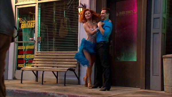 Drew Lachey, Anna Trebunskaya get close before 'DWTS: All-Stars'
