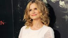 Kyra Sedgwick poses at the premiere for her 2012 film The Possession  at the premiere of the film at Arclight Cinemas on Tuesday, Aug. 28,
