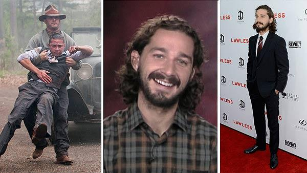 LaBeouf and Tom Hardy appear in a scene from 'Lawless.' / Shia LaBeouf talks about 'Lawless' in August 2012. / Shia LaBeouf appears at the premiere and after party of the movie 'Lawless,' sponsored by DeLeon Tequila, at Eden in Hollywood on Aug. 22, 2012.