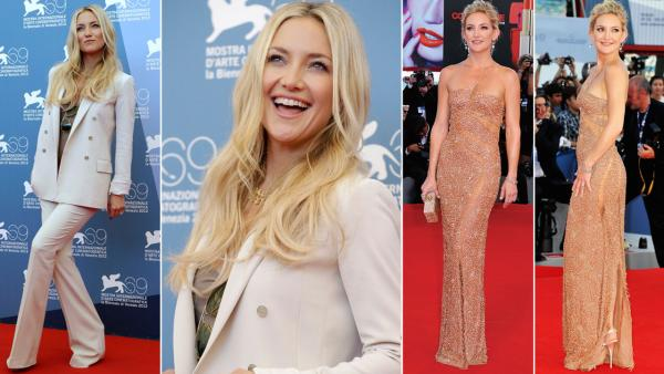 Kate Hudson attended the Venice Film Festival in Venice, Italy on August 28 to promote her new film The Reluctant Fundamentalist. - Provided courtesy of AP / Andrew Medichini / Getty