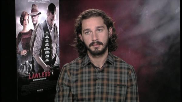 Shia LaBeouf: 'Lawless' car stunts = ballet?